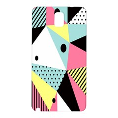 Geometric Polka Triangle Dots Line Samsung Galaxy Note 3 N9005 Hardshell Back Case