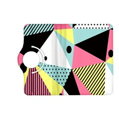 Geometric Polka Triangle Dots Line Kindle Fire Hd (2013) Flip 360 Case