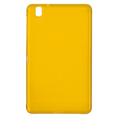 Amber Solid Color  Samsung Galaxy Tab Pro 8 4 Hardshell Case
