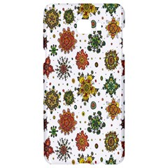 Flower Floral Sunflower Rose Pattern Base Samsung C9 Pro Hardshell Case