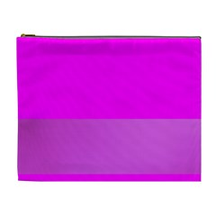 Line Pink Cosmetic Bag (xl)