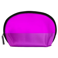 Line Pink Accessory Pouches (large)