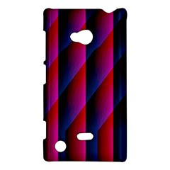 Photography Illustrations Line Wave Chevron Red Blue Vertical Light Nokia Lumia 720