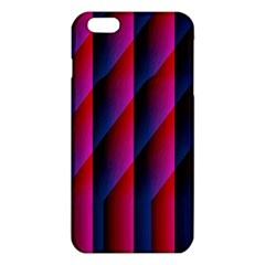Photography Illustrations Line Wave Chevron Red Blue Vertical Light Iphone 6 Plus/6s Plus Tpu Case