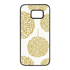 Loboloup Hydrangea Quote Floral And Botanical Flower Samsung Galaxy S7 Edge Black Seamless Case