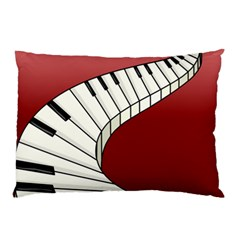 Piano Keys Music Pillow Case