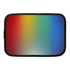 Rainbow Flag Simple Netbook Case (medium)
