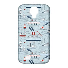 Ships Sails Samsung Galaxy S4 Classic Hardshell Case (pc+silicone)
