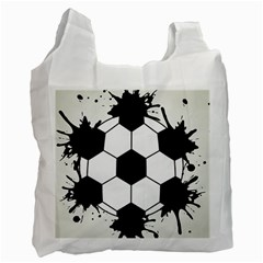 Soccer Camp Splat Ball Sport Recycle Bag (one Side)