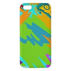 Skatepark Seaworld Fish Apple Iphone 5 Premium Hardshell Case
