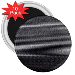 Shadow Faintly Faint Line Included Static Streaks And Blotches Color Gray 3  Magnets (10 Pack)