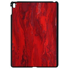 Stone Red Volcano Apple Ipad Pro 9 7   Black Seamless Case