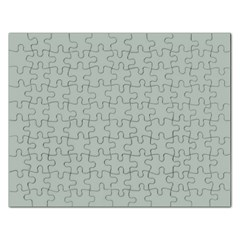 Ash Gray Solid Color  Rectangular Jigsaw Puzzl