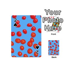 Tomatoes Fruite Slice Red Playing Cards 54 (mini)