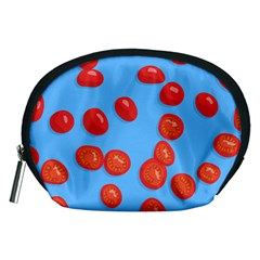 Tomatoes Fruite Slice Red Accessory Pouches (medium)