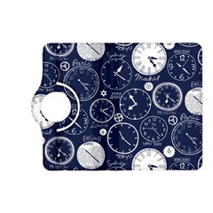 Time World Clocks Kindle Fire Hd (2013) Flip 360 Case