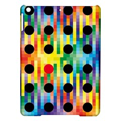 Watermark Circles Squares Polka Dots Rainbow Plaid Ipad Air Hardshell Cases