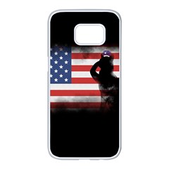 Honor Our Heroes On Memorial Day Samsung Galaxy S7 Edge White Seamless Case
