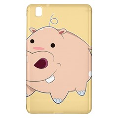 Happy Cartoon Baby Hippo Samsung Galaxy Tab Pro 8 4 Hardshell Case