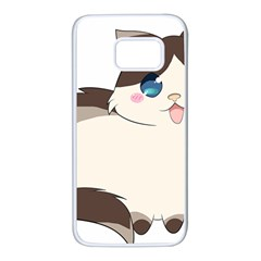 Ragdoll Cat For Life Samsung Galaxy S7 White Seamless Case