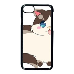 Ragdoll Cat For Life Apple Iphone 7 Seamless Case (black)