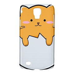 Yellow Cat Egg Galaxy S4 Active