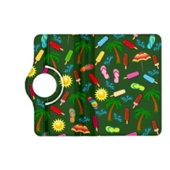 Beach Pattern Kindle Fire Hd (2013) Flip 360 Case