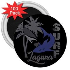 Surf   Laguna 3  Magnets (100 Pack)