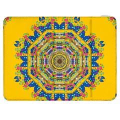 Happy Fantasy Earth Mandala Samsung Galaxy Tab 7  P1000 Flip Case