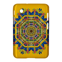 Happy Fantasy Earth Mandala Samsung Galaxy Tab 2 (7 ) P3100 Hardshell Case