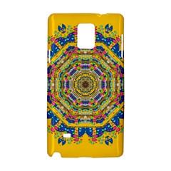 Happy Fantasy Earth Mandala Samsung Galaxy Note 4 Hardshell Case