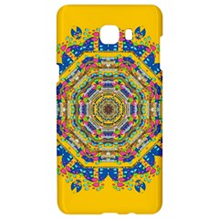 Happy Fantasy Earth Mandala Samsung C9 Pro Hardshell Case