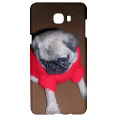 Pablo The Pug Puppy In A Red Sweater Samsung C9 Pro Hardshell Case