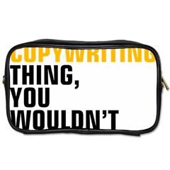 07 Copywriting Thing Copy Toiletries Bags