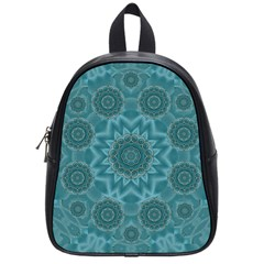 Wood And Stars In The Blue Pop Art School Bags (small)