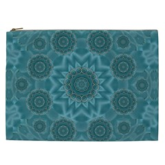 Wood And Stars In The Blue Pop Art Cosmetic Bag (xxl)