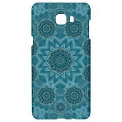 Wood And Stars In The Blue Pop Art Samsung C9 Pro Hardshell Case