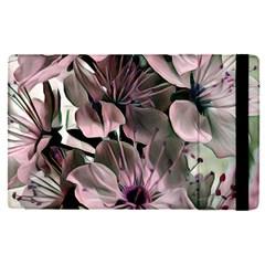 Wonderful Silky Flowers A Apple Ipad Pro 12 9   Flip Case