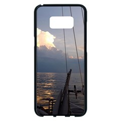 Sailing Into The Storm Samsung Galaxy S8 Plus Black Seamless Case