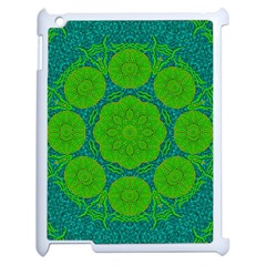 Summer And Festive Touch Of Peace And Fantasy Apple Ipad 2 Case (white)