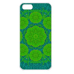 Summer And Festive Touch Of Peace And Fantasy Apple Iphone 5 Seamless Case (white)