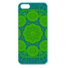 Summer And Festive Touch Of Peace And Fantasy Apple Seamless Iphone 5 Case (color)