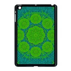 Summer And Festive Touch Of Peace And Fantasy Apple Ipad Mini Case (black)