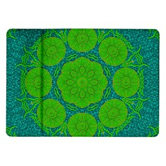 Summer And Festive Touch Of Peace And Fantasy Samsung Galaxy Tab 10 1  P7500 Flip Case