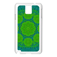 Summer And Festive Touch Of Peace And Fantasy Samsung Galaxy Note 3 N9005 Case (white)