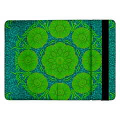 Summer And Festive Touch Of Peace And Fantasy Samsung Galaxy Tab Pro 12 2  Flip Case