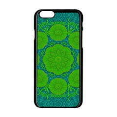 Summer And Festive Touch Of Peace And Fantasy Apple Iphone 6/6s Black Enamel Case