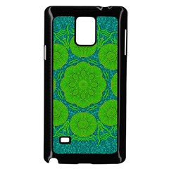 Summer And Festive Touch Of Peace And Fantasy Samsung Galaxy Note 4 Case (black)