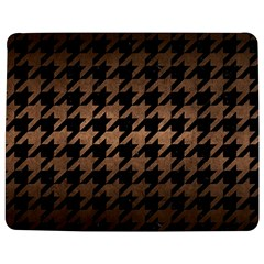 Houndstooth1 Black Marble & Bronze Metal Jigsaw Puzzle Photo Stand (rectangular)