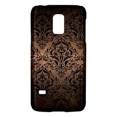 Damask1 Black Marble & Bronze Metal (r) Samsung Galaxy S5 Mini Hardshell Case